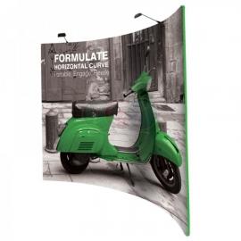 Ścianka Reklamowa Tekstylna Horyzontalna 3m z wydrukiem