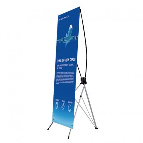 X banner 60x160  z wydrukiem