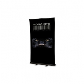 Roll Up Mosquito Black 120x200 z wydrukiem