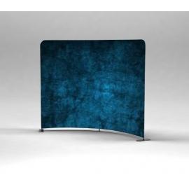 Ścianka Reklamowa Tekstylna Vario łukowa klasyczna 1.6m z wydrukiem