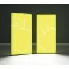 Kaseton wolnostojący podświetlany dwustronny LED